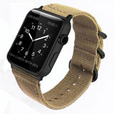 Double Buckle Nylon Apple Watch Strap | Apple Watch Strap | Khaki