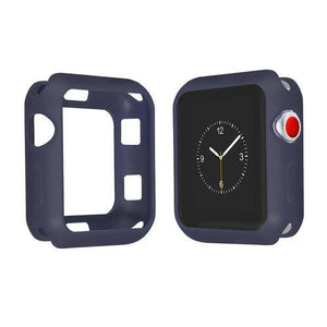 Colored Silicone Protective Apple Watch Case | Apple Watch Case | Midnight blue