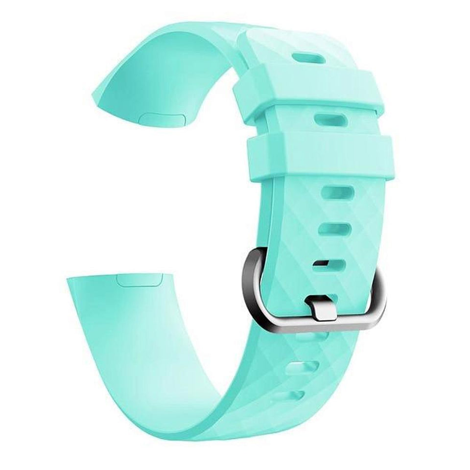 Silicone Sports Fitbit Charge 3 Strap | Fitbit Charge 3 Strap | Mint Green
