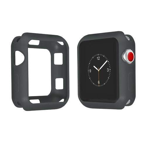 Colored Silicone Protective Apple Watch Case | Apple Watch Case | Gray