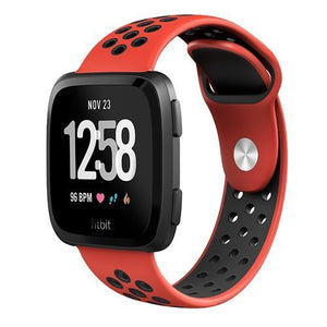 Sports Fitbit Versa Strap | Fitbit Versa | Red Black
