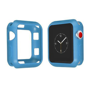 Colored Silicone Protective Apple Watch Case | Apple Watch Case | Blue