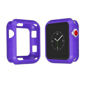 Colored Silicone Protective Apple Watch Case | Apple Watch Case | Purple