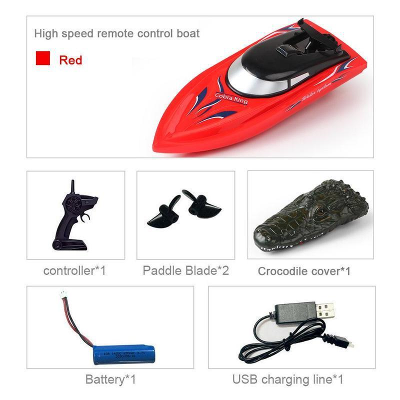 RC Crocodile Head Boat Toy