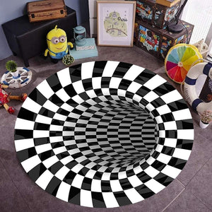 3D Vortex Rug illusion Carpet