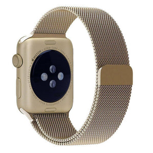 Milanese Stainless Steel Apple Watch Strap | Apple Watch | Vintage Gold