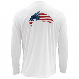 Simms Solarflex Shirt Long Sleeve - Graphic Prints