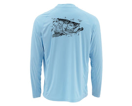 Simms Solarflex Shirt Long Sleeve - Graphic Prints (Closeout)