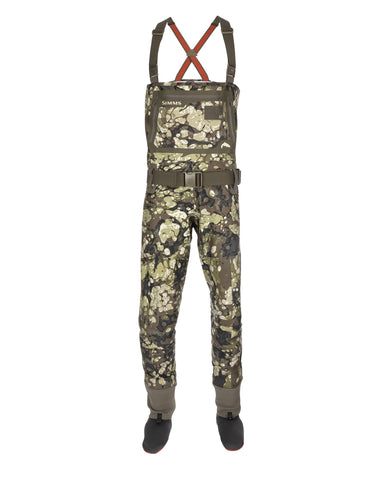 Simms G3 Guide Riparian Camo Stockingfoot Waders