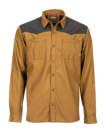 Simms Black's Ford Flannel Long Sleeve Shirt