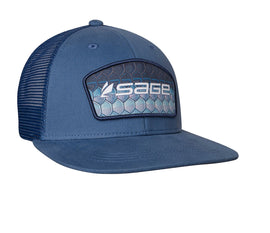 Sage Patch Trucker - Tarpon