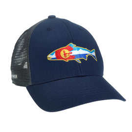 Rep Your Water Colorado Fly and Mountains Hat