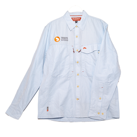 Trouts x Simms Guide Long Sleeve Shirt Marle