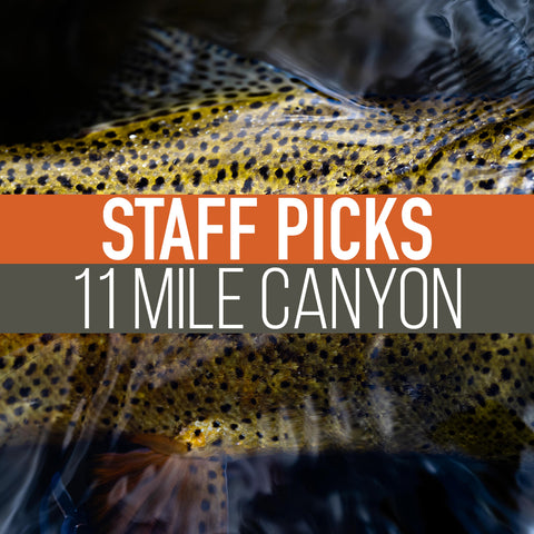 Staff Picked Trout Flies - 11 Mile Canyon