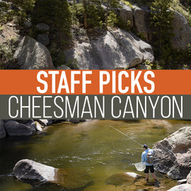 Staff Picked Trout Flies - Cheesman Canyon