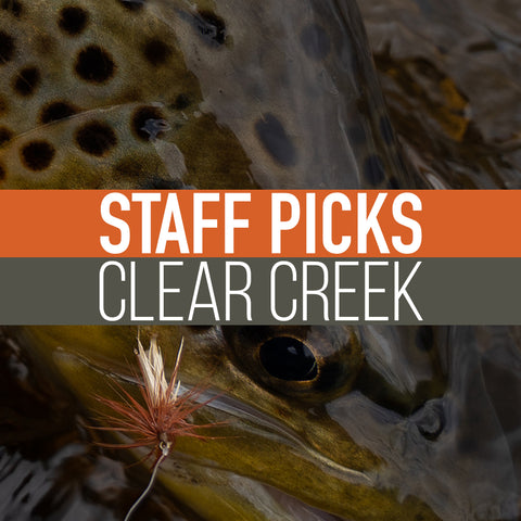 Staff Picked Trout Flies - Clear Creek