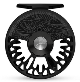 Abel VAYA Fly Reel - Custom 5/6 Underwood - On The Hunt Black