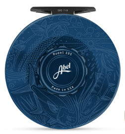 Abel Sealed Drag Salt (SDS) Fly Reel - Custom 7/8 Underwood - Slammin' Deep Blue