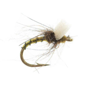 Umpqua Massacre Midge -  Light Olive