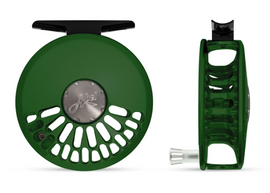 Abel TR Fly Reel - Custom 4/5 Satin Grass Green