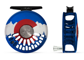 Custom Abel TR Fly Reel - Colorado Flag 5/6