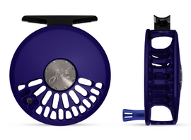 Custom Abel TR Fly Reel - Satin Blue III 4/5