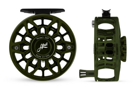 Custom Abel SDF Fly Reel - Deep Green 6/7