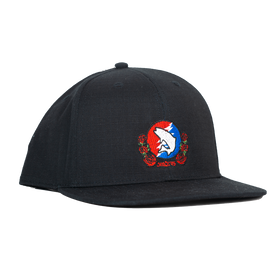 Trouts x Simms Trout Yer Face Off Flat Bill Hat - Black