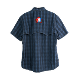Trouts x Simms Big Sky SS Shirt - Admiral Blue