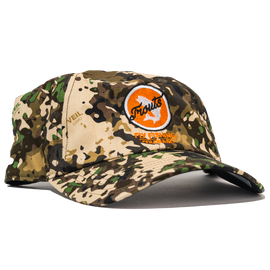 Trouts x Simms Single Haul Hat - River Camo
