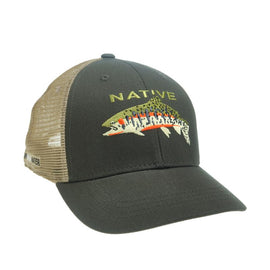 Rep Your Water Native Greenback Cutthroat Hat