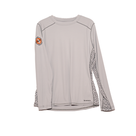 Trouts x Simms Women's Solarflex Long Sleeve Crewneck Print