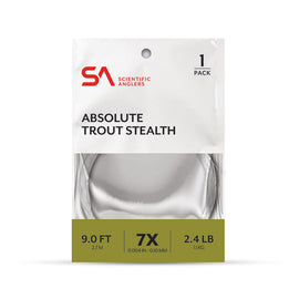 Scientific Anglers Absolute Trout Stealth Leader - 9'