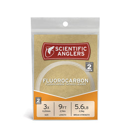 Scientific Anglers - Fluorocarbon Leader 2 Pack