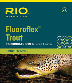 Rio Fluoroflex Trout Leader - 9ft
