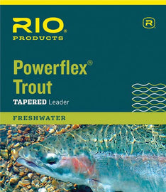 Rio Powerflex Trout Leader - 9 ft.