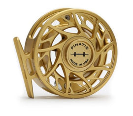Hatch Finatic Gen 2 Limited Edition Gold/Black Reel