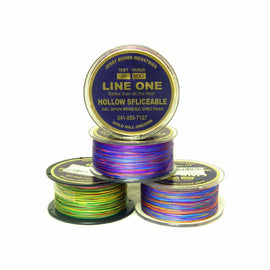 Jerry Brown Line One Hollow Core Braided Backing - Per Yard