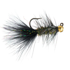 Five Flies May - Jigged Wooly Bugger - Black