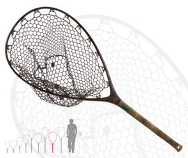 Fishpond Nomad Mid-Length Boat Net - Limited Edition Brown Trout