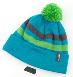 Simms Women's Fleece Lined Pom Hat - Lagoon (Closeout)