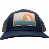 Trouts X Rep Your Water Collab Hat - Navy/Gray