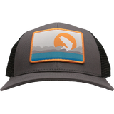 Trouts X Rep Your Water Collab Hat - Gray/Black