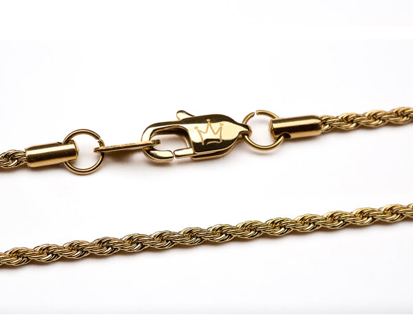 Rope Chain 2.5mm - Ouro Goods
