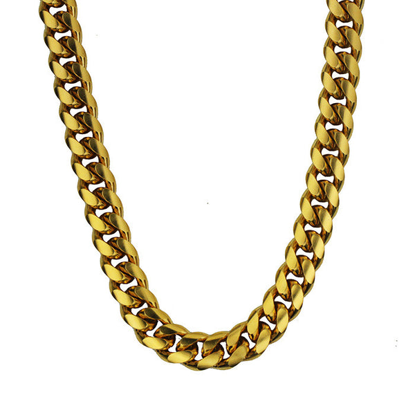 Ouro Cuban Link Chain - Ouro Goods