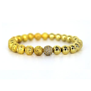 Aquila Beaded Bracelet - Ouro Goods