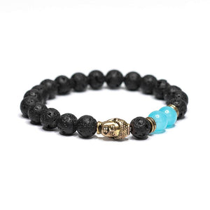 Buddha Head Beaded Bracelet