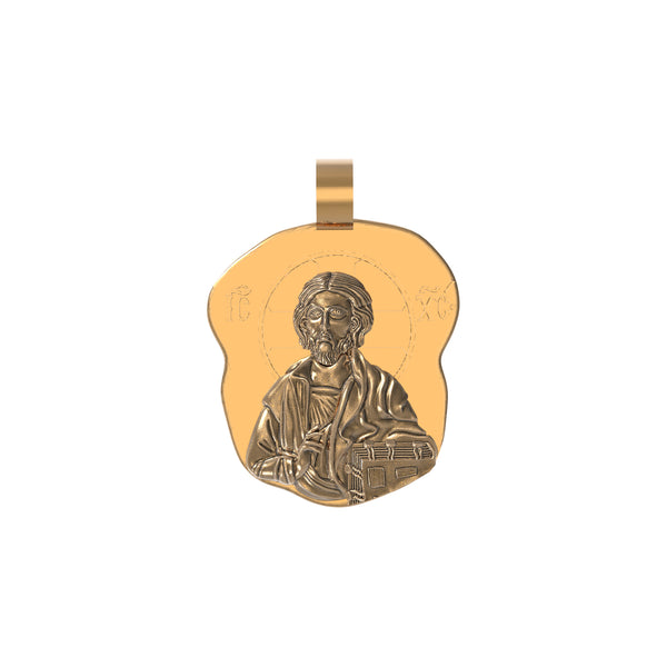 Pantocrator Piece - Ouro Goods