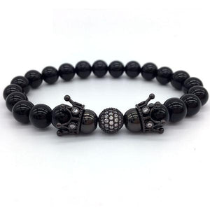 Black Apus Beaded Bracelet - Ouro Goods