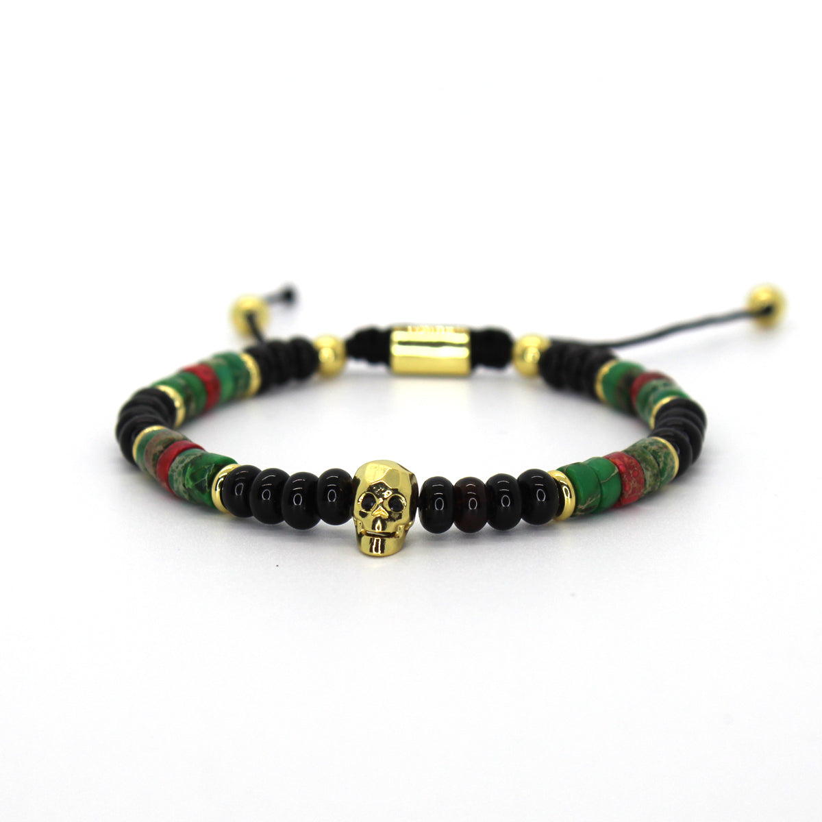 Vulcan Adjustable Bracelet - Ouro Goods